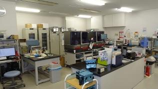 輸血検査スペース