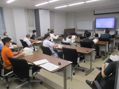 8月17日の内科専門研修委員会